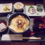 45203373 - 湯葉丼御膳980円(平日限定)
