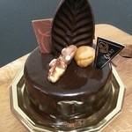 Lyon - 料理写真:「ミロワール ショコラ」