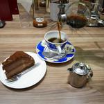 カフェ・ド・ペラゴロ - 2015/11/23  コーヒーとケーキ