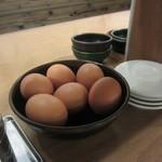 東大 京都店 - 生卵無料だそうです