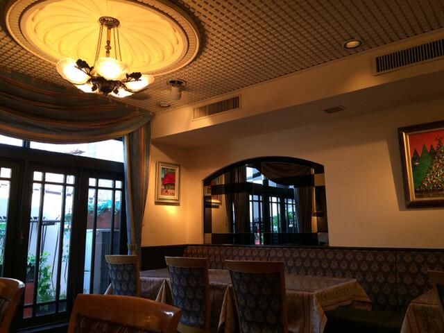 サロン・ド・テ・アルション 法善寺本店 - いい雰囲気のサロン