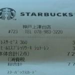 スターバックス・コーヒー - 777円のレシート♪