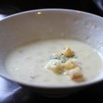 ういるびー - 料理写真:オムライスセットのスープ