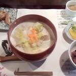 麺喰 - 飛鳥汁うどんセット