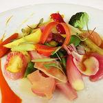 45209904 - 彩り野菜のシンフォニー エストラゴン風味