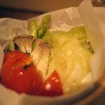 暴飲暴食 東遊 - 蒸し野菜