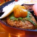 バレンシーア - 2015年11月 ハンバーグのおろしポン酢定食