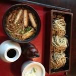 45211300 - 鴨つけそば。茶の子(愛知県岡崎市)食彩品館.jp撮影