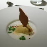 フレンチレストラン にき亭 - マスカルポーネチーズのデザート