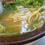 本家 第一旭  - 麺とスープ('15.11)