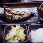 しんぱち食堂 - 3羽いわし定食~☆