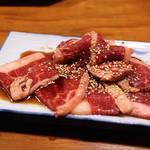 かっちゃんち - 料理写真:花盛カルビ(ジャンボ)