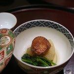 日本料理 太月 - 2015/11 あん肝漬焼きと丸大根煮