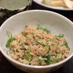 日本料理 太月 - 2015/12九条ネギと合鴨