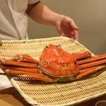 日本料理 太月 - 2015/12松葉蟹