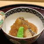 日本料理 太月 - 2015/12能登半島のぶり揚物、大根おろしつゆかけ