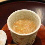 日本料理 太月 - 2015/12香箱蟹の茶わん蒸し