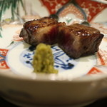 日本料理 太月 - 2015/12仙台牛もろみ焼き