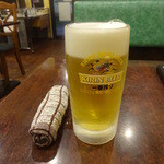 叙香苑 - 生ビール