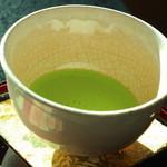 日本料理 鎌倉山倶楽部 - ドリンクはお抹茶をえらびました