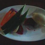 45217394 - 野菜のアンチョビペーストディップ 480円