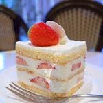 45218133 - イチゴのショートケーキ