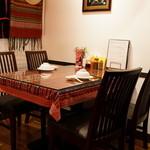 ワン アン ホア セン - 2015.12 4人用のテーブル席
