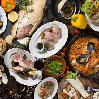 タパスの種類が豊富な小皿料理バル