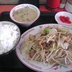 4522411 - 「野菜炒めセット」650円