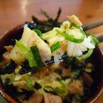 麺や拓 - ☆葱との相性も抜群です☆