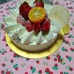 パティスリーモルフォ - デコレーションケーキ