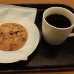 スターバックス・コーヒー - エスプレッソローストのプレス&チョコレートチャンククッキー