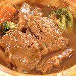 エルベ - シチューセット 1900円 のビーフシチュー