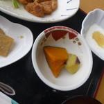 ふれあいレストラン雲の信号 - 定食の小鉢デザート