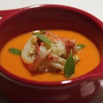 Convivio - 蟹とフレッシュトマトのフラン(茶わん蒸し)