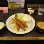 洋食亭 おおはし - 海老フライ定食