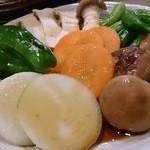 ホルモン武蔵 - 野菜盛り
