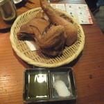 全力鶏 - 巨大なフライドチキン、定価980円がクーポンで額に!(2015.11.30)