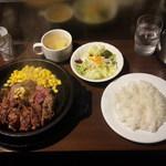 いきなり!ステーキ 仙台店 - ワイルドステーキセット