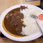 松屋 広島胡町店 - カレー(アップ)