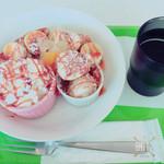 スノーカップ - ホットク ¥680 めっちゃ美味しい