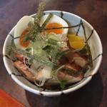 らぁめん 欽山製麺所 - 特製鶏めし 350円(ランチ価格)