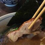 らぁめん 欽山製麺所 - 鶏チャーシュー