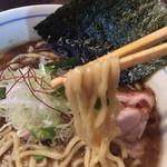 らぁめん 欽山製麺所 - さぬきの夢2009を使用した極太麺