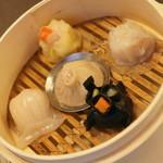 中国料理 盤古殿 - 自慢点心5種セット(1,380円+税)2015年12月