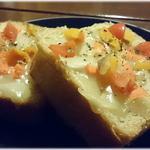 珈屋Lamp - 天然酵母パンのチーズトースト