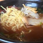 天明閣 - 151207 醤油ラーメン(お昼のセット)