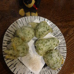いろり家 - 山芋の礒部揚げ