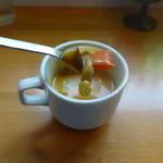 TA-IM - ランチ スープ 旨い