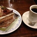 TANNE - ケーキセット 750円